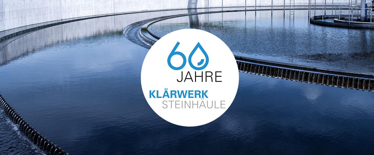 60 Jahre Klärwerk Steinhäule
